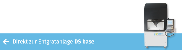 Mit Entragtungszellen DS base von gKteso effizient schleifen