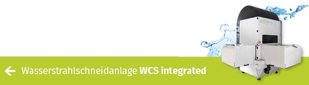 Für besonders viel Durchsatz: CNC-Wasserstrahlschneidanlage WCS integrated von gKteso-Wechseltisch