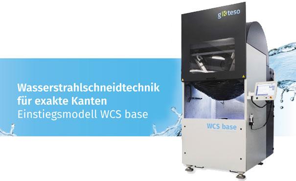 Wasserstrahlschneidmaschine - Waterjet Cutting System (WCS) base