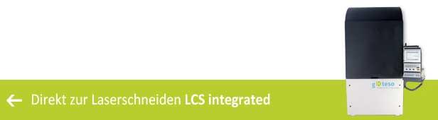 Laserschneiden - LCS integrated